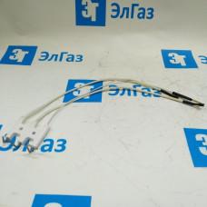 Блок электродов розжига и контроля пламени для котлов Ariston и Chaffoteaux